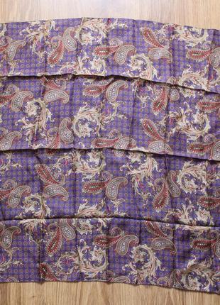 Нежнейший шелковый изящный платок женский sand италия