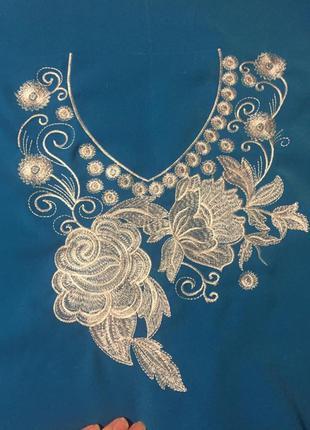 Тканина з вишивкою, ткань с вышивкой,  платье