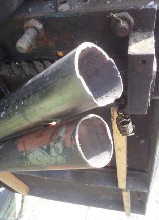 Трубы титановые безшовные 2шт.  Диаметр 38 мм, стенка 1 мм