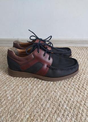 Мужские кожаные туфли 43 р кларкс
