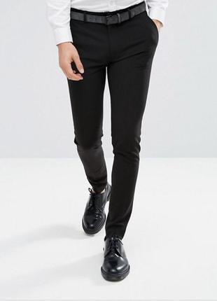 Asos штаны брюки приталенный скинни skinny fit