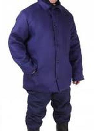 Куртка ватная (фуфайка) Рабочая зимняя