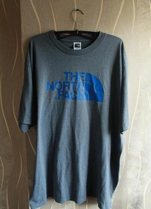 Модная популяная мужская футболка с большим лого на груди the ...