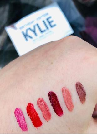 Набор помадок Matte Liquid Lipstick Kylie Birthday Edition 💄 6 цв