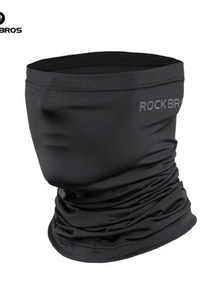 Бафф Rockbros чёрный для велосипеда велобафф мультишарф маска