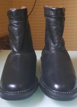Зимние мужские фирменые ботинки
