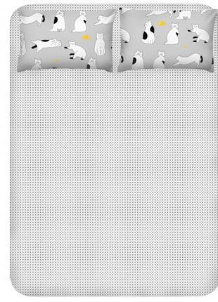 Простынь 2-спальная 240х260 см + 2 наволочки 50х70 см