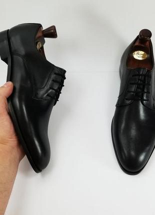 Zign made in india мужские черные туфли