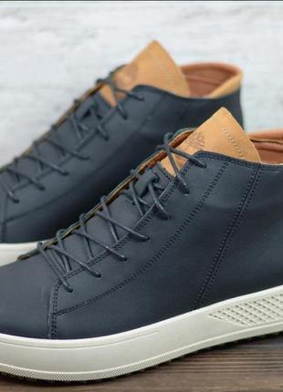 Зимние кожаные ботинки мужские 40-45