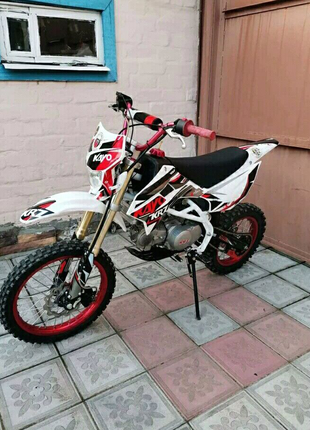 Kayo 125 питбайк кросс ендуро мотоцикл
