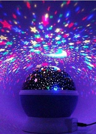 Ночник-проектор новый звездное небо очень нравится детям не дорог