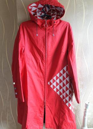Шикарный женский длинный дождевик парка куртка от дизайнера an...