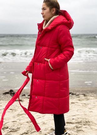 Терлая зимняя куртка пальто