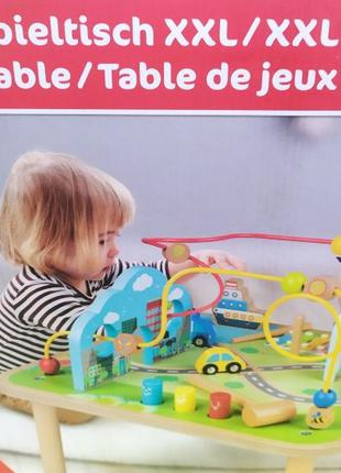 Развивающий деревянный стол PLAYTIVE