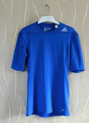 Сногшибательная компрессионная термо футболка для спорта adida...