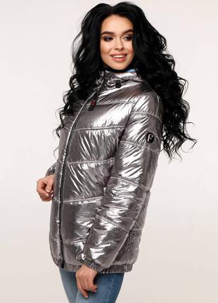 Куртка фольга favoritti, все цвета, размеры 44 до 54