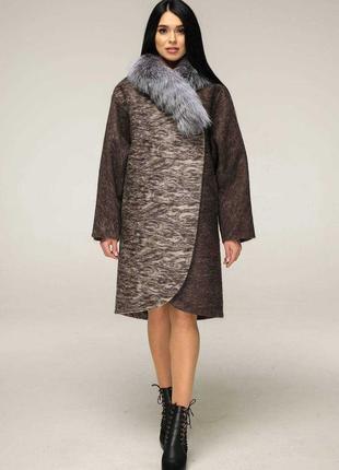 Пальто зимнее favoritti размеры от 44 до 54, все цвета