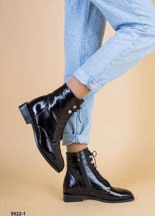 Женские ботинки демисезонные из натуральной кожи 💥