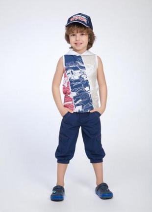 Kids германия бриджи, капри, шорты на мальчика р.134-140см/8-1...