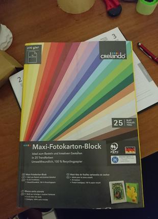 Фотокартон Crelando maxi fotokarton block