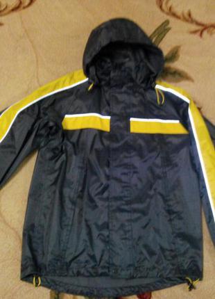 Куртка ветровка дождевик штурмовка hema р.146-152 (11-12 лет) ...