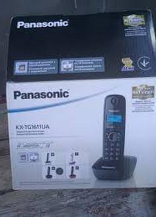 Продам домашний телефон беспроводной Panasonic KX-YG1611UA.
