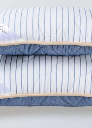 Подушка из шерсти мериносов Goodnight.Store цвет Синий / Белый...