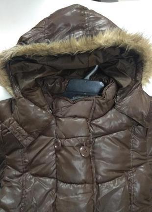 Куртка пуховик удлиненная trax 152
