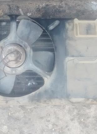 Радиатор с вентилятором на гольф 2