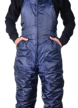 Полукомбинезон утепленный рабочий Норд , темно-синий