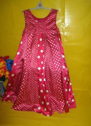 Детское нарядное платье monsoon монсун на 8-9 лет