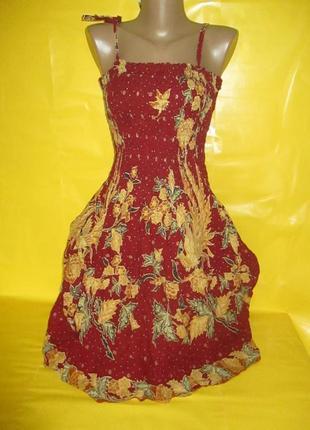 Очень красивое женское платье грудь 30-40 см