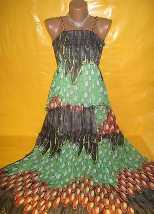 Очень красивое женское платье в пол