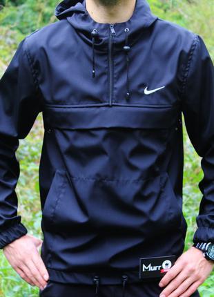 Анорак Nike черный