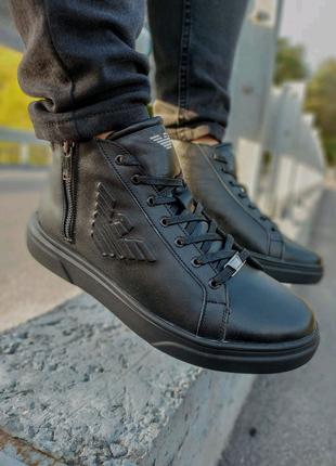 Зимние ботинки Armani