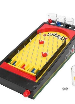 Алко-игра Sadsball пинбол настольная игра 3D игра питьевая игр...