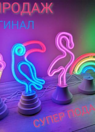 Led неоновый светильник ночник usb лампа декор подарок игрушка...