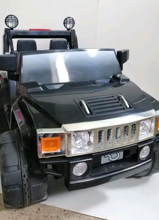Джип Хамер Hammer электромобиль 2 х местный машина 12v/12ah
