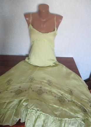Очень красивое женское платье в пол на стройную фигуру !!!!!!!!!!