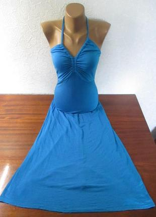 Очень красивое женское платье в пол на стройную фигуру  boohoo...