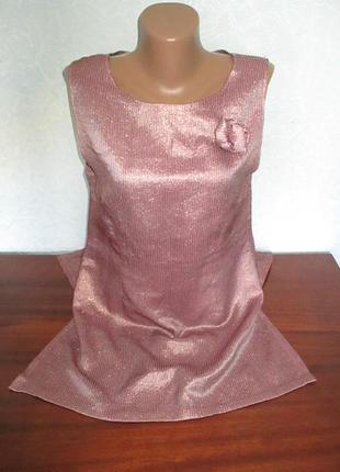 Красивое женское платье с люрексом  !!!!!