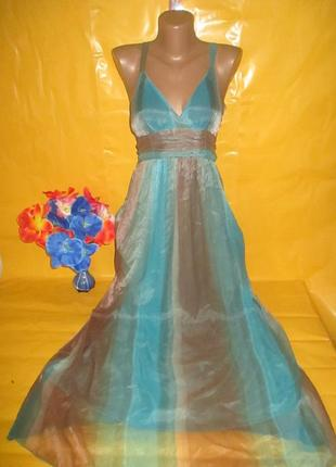 Очень красивое женское платье в пол purple (пепл) !!!!!