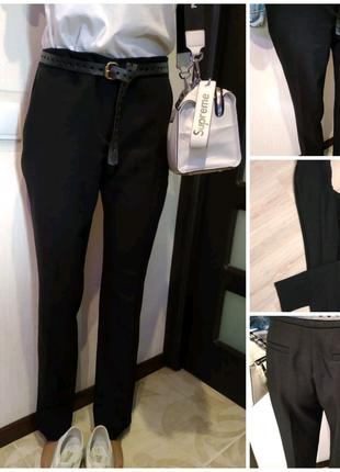 Черные базовые брюки штаны