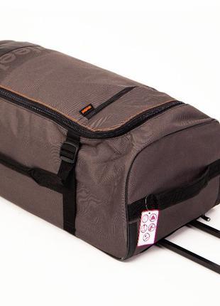 Большая дорожная сумка 110л. на колесах. Чемодан дорожный Newfeel