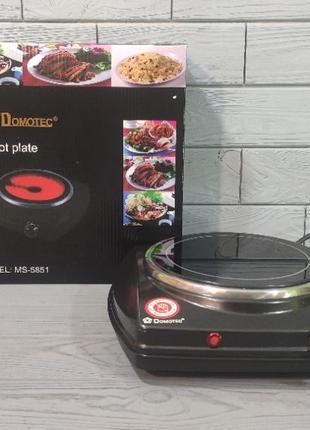 Инфракрасная плита Domotec MS-5851. Настольная электроплита