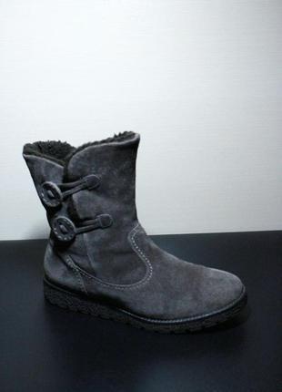 Оригинал gabor германия ботинки мех теплые