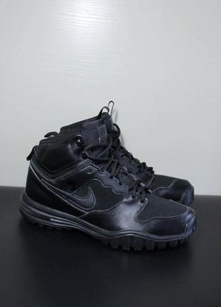 Оригинал nike dual fusion hills mid leather ботинки кожа