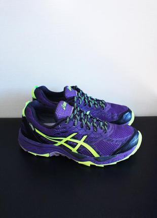 Оригинал asics gel fuji trabuco 5 gore tex  кроссовки для бега