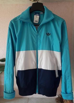 Женская спортивная куртка ветровка adidas демисезон олимпийка