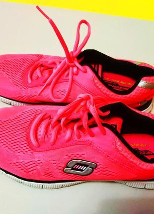 Женские беговые лёгенькие кроссовки skechers, 41 размер